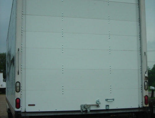 New Box Truck Door Install